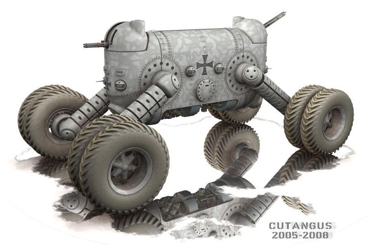 1924 Panzer Kampf Wagen II by Cutangus (Jose Garcia)