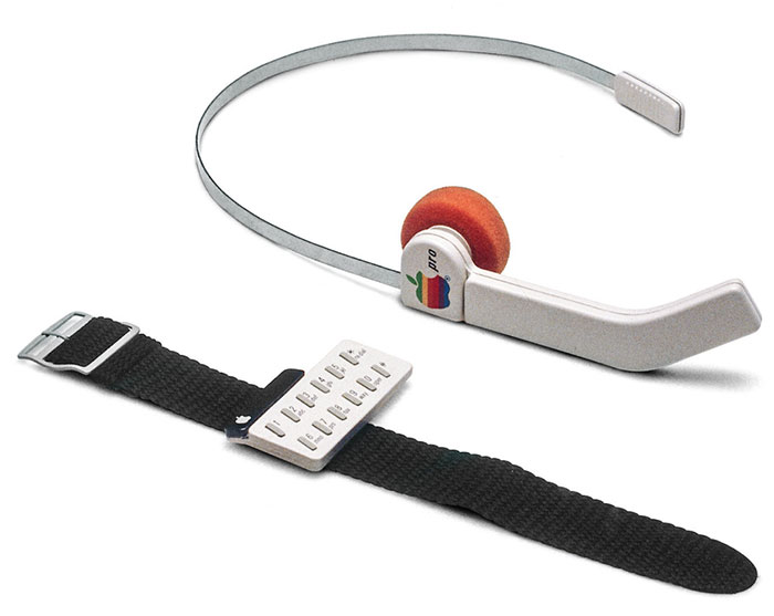 Apple Wrist & Ear Phone 1985
