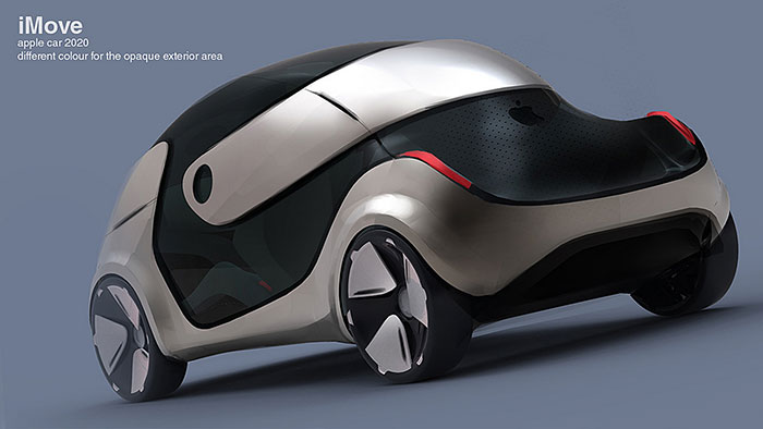 iMove - Apple inspired car