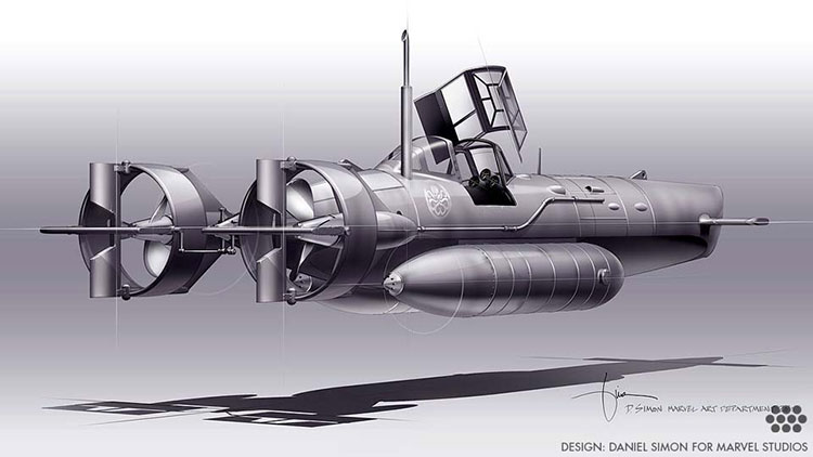Hydra Submarine