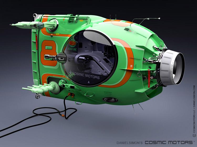 Cosmic Motors Camarudo 3d