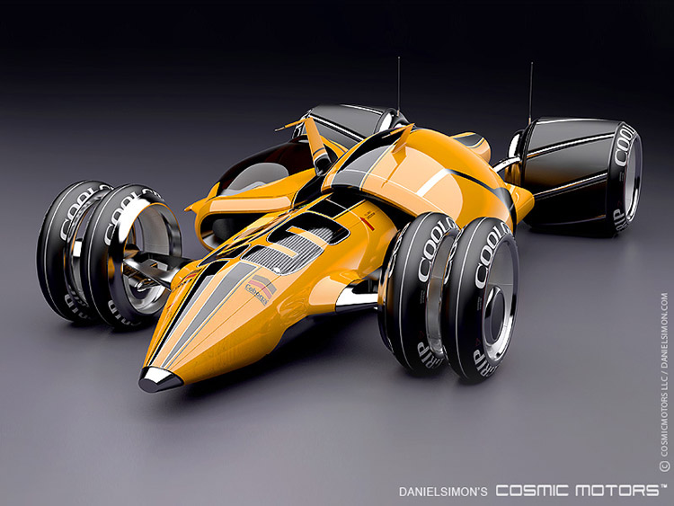 Cosmic Motors Gravion 3d
