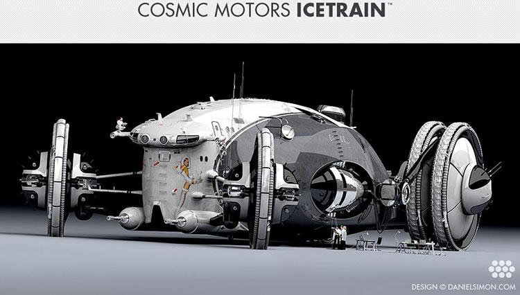 Cosmic Motors Icetrain 3d