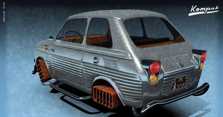 Fiat 126p Diesel by pkowal