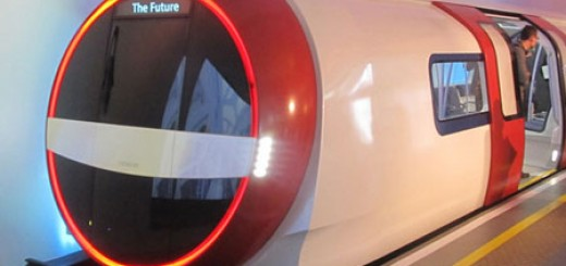 Siemens unveils proposal for future London Underground train.