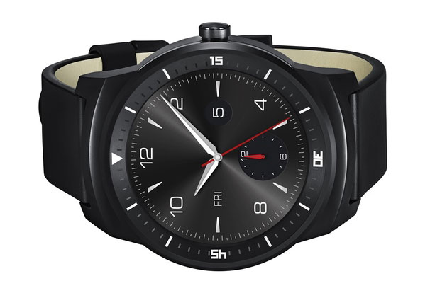 LG G Watch R, So far the best looking smart watch. If they can only fix poor battery life. It has a steel frame, which resembles a more traditional men's analogue sports watch. Cool-3d-concept.