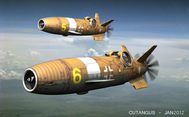 Luftwaffe flight, 1948 by CUTANGUS (Jose Garcia)