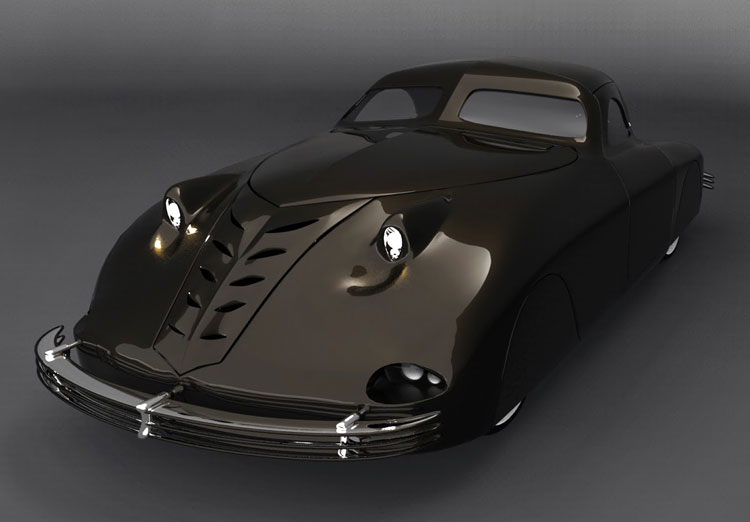 Phantom Corsair 1938 3d model by Matteo Drovetto