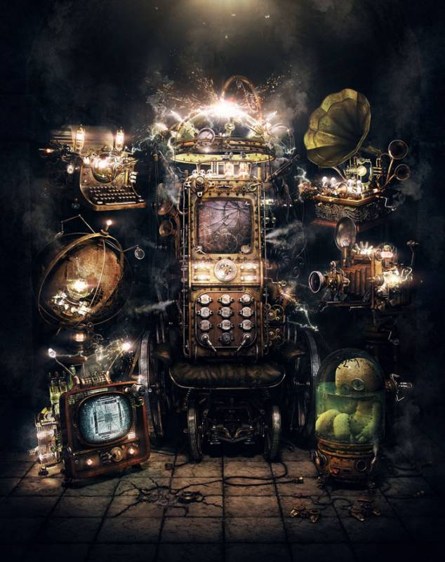 Shoker-Fireworks-Aleksandr-Kuskov, cool-3d-concept, steampunk