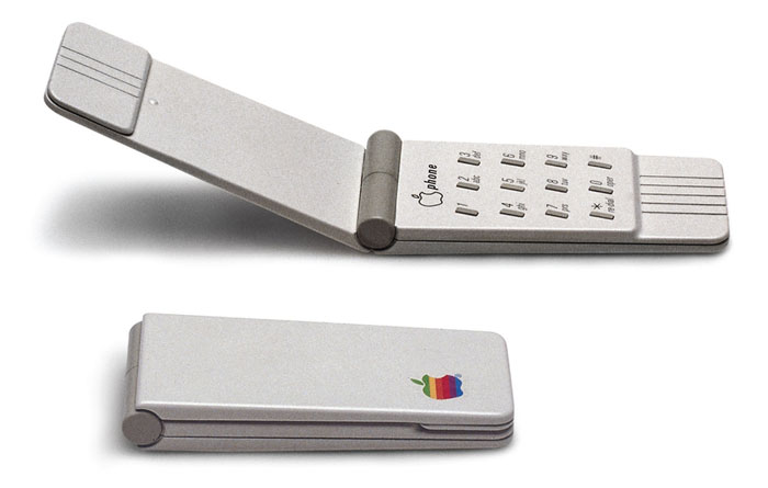 Apple flip phone 1984