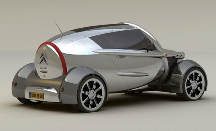 Citroën 2CV retro concept