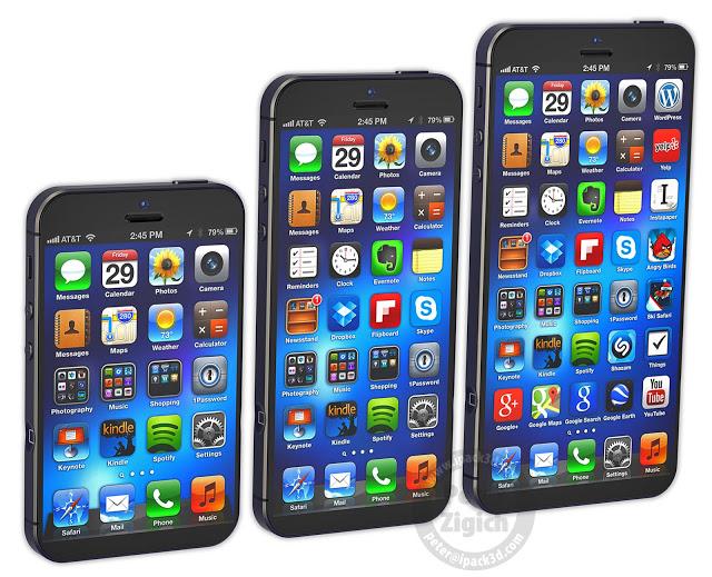 3 very different iPhones
