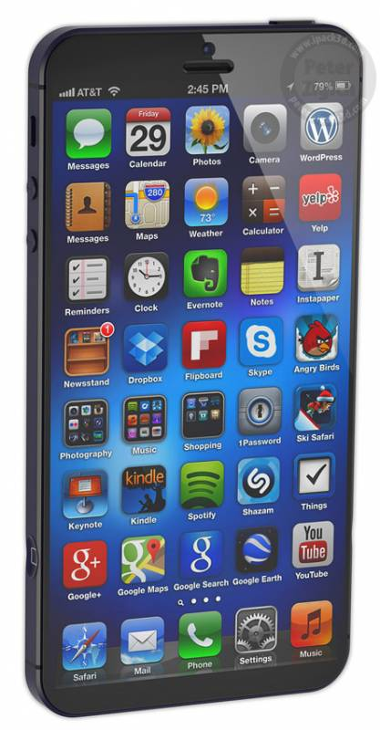 iPhone 6 XL – larger screen, perfect for one handed use 