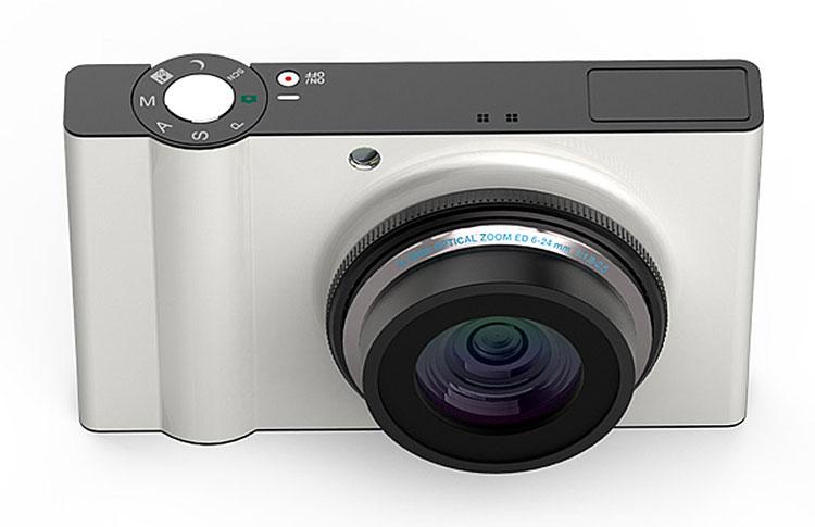 Rotor digital camera concept 3d