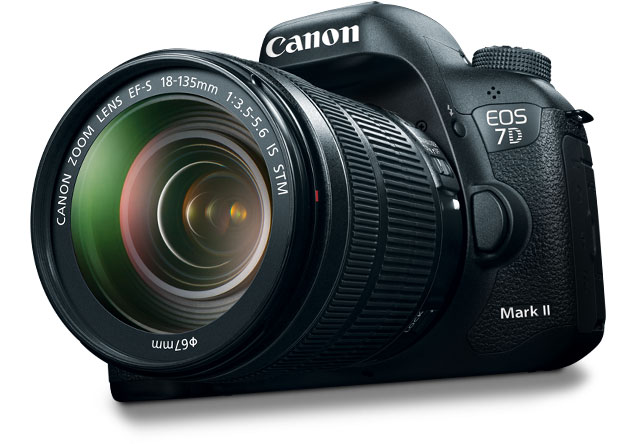 The best APS-C crop camera you can buy today, Canon EOS 7D Mark II is the ultimate sports DSLR. 10fps, 65-point cross-type AF, 20.2 MP sensor.