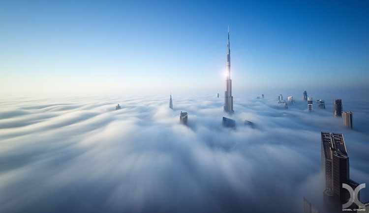 Great HDR cityscapes by Daniel Cheong. Awesome, High Dynamic Range photography, HDR, manually blending multiple exposures. Awesome Dubai, UAE photos.