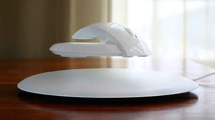BAT levitating mouse, computer peripheral that promises to prevent prevent Carpal tunnel syndrome. Designed by Vadim Kibardin