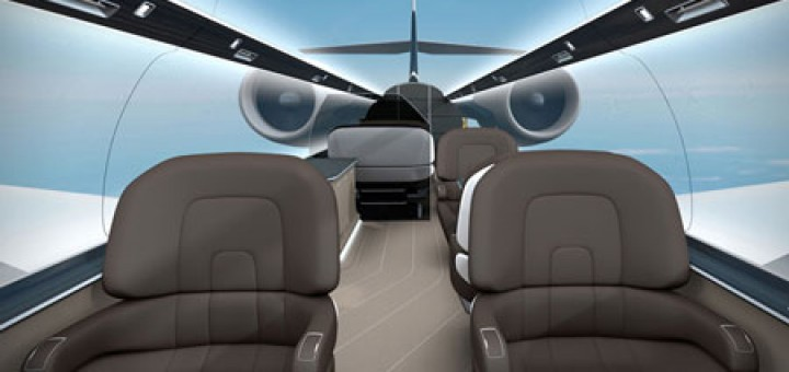 IXION windowless jet by Technicon Design, cool-3d-concept