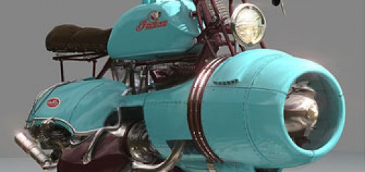 Indian Flyer Concept Bike by Chris Stoski