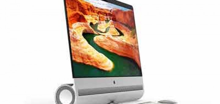 iPro concept is a mix between a Mac Pro and an iMac. It features a glass OLED display with unibody design and flexible architecture. Cool-3d-concepts.