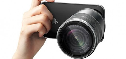 iPhone Pro camera concept is Apple phone made for photographers. Includes a zoom lens, beam projector, 3d camera, portable speaker, removable hard disk.
