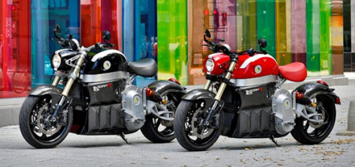 Sora Electric Super Bike is innovative zero emission electric motorcycle concept made by Canadian Lito Green Motion company, with a range of 100 - 200 km.