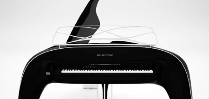 Whaletone Piano is gorgeously designed by a Robert Majkut from Poland. Fully electric instrument, a high end Roland Synthesizer, $200.000, built to order