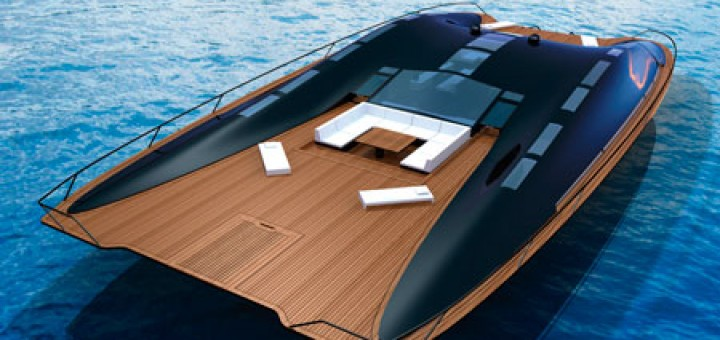 ARK Solar Boat by Janne Leppänen environmentally responsible watercraft, doubles as luxurious home. 10 years into the future with latest battery and solar technology.